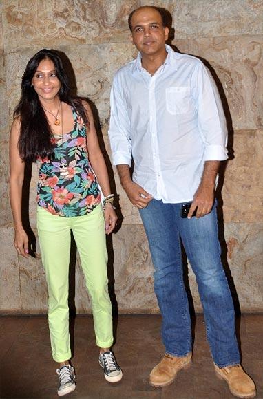 Sunita and Ashutosh Gowariker