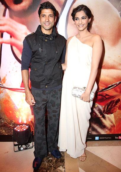Sonam Kapoor and Farhan Akhtar