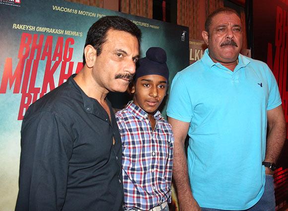 Pawan Malhotra, Japtej Singh and Yograj Singh