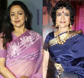 Hema Malini and Vyjayanthimala