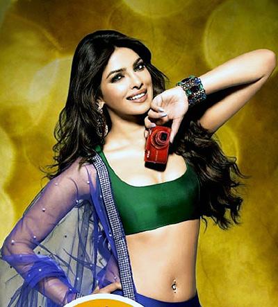 Priyanka Chopra in a Nikon ad
