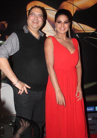 Navin Batra and Veena Malik