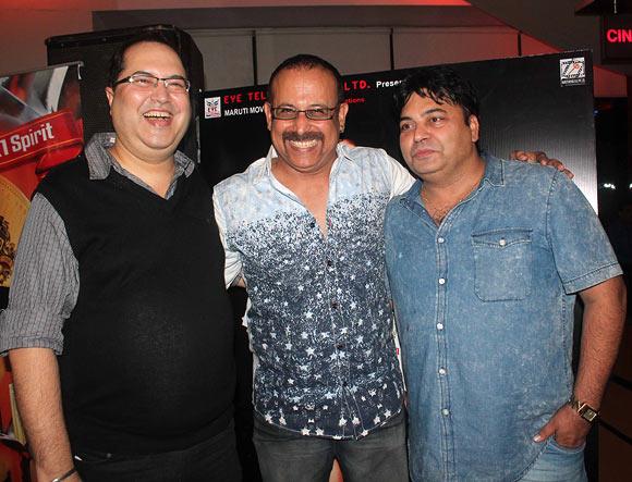 Navin Batra, Adi Irani and Ravi Ahlawat