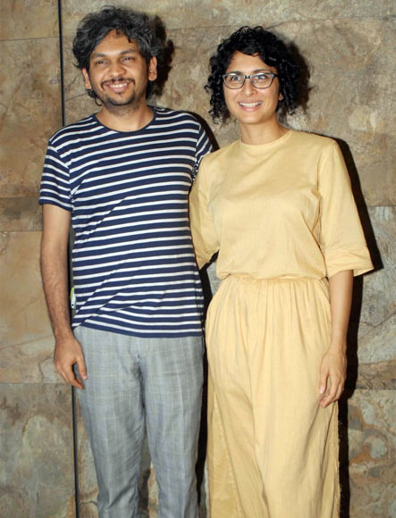 Anand Gandhi and Kiran Rao
