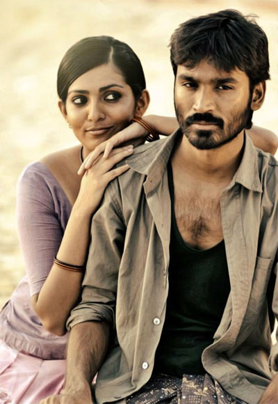 Parvati Menon and Dhanush in Mariyaan