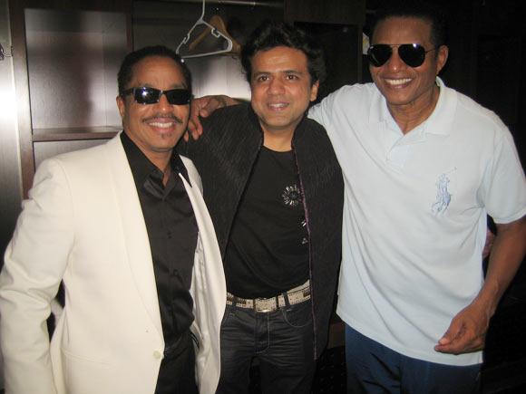 Marlon Jackson, Rajesh Aiya, Jackie Jackson