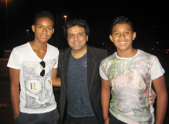 Jaafar Jeremiah, Rajesh Aiya and Jermajesty