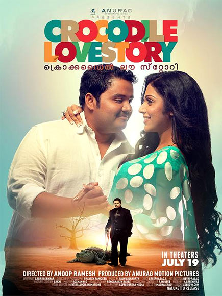 Movie poster of Crocodile Love Story
