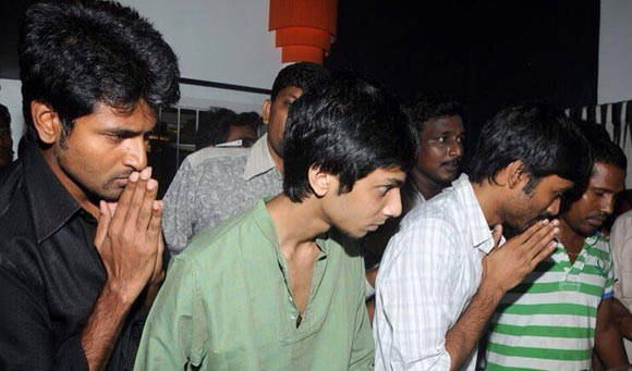 Anirudh Ravichander and Dhanush