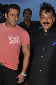 Salman Khan and Baba Siddique