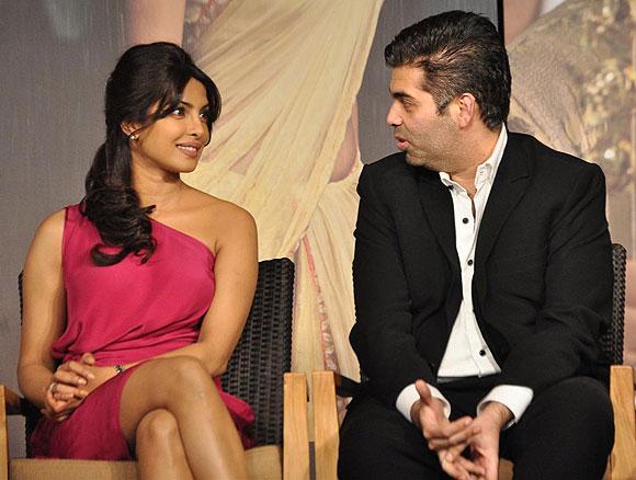 Karan Johar-Priyanka Chopra