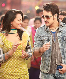 Sonakshi Sinha and Imran Khan in Once Upon A Time in Mumbaai Dobara