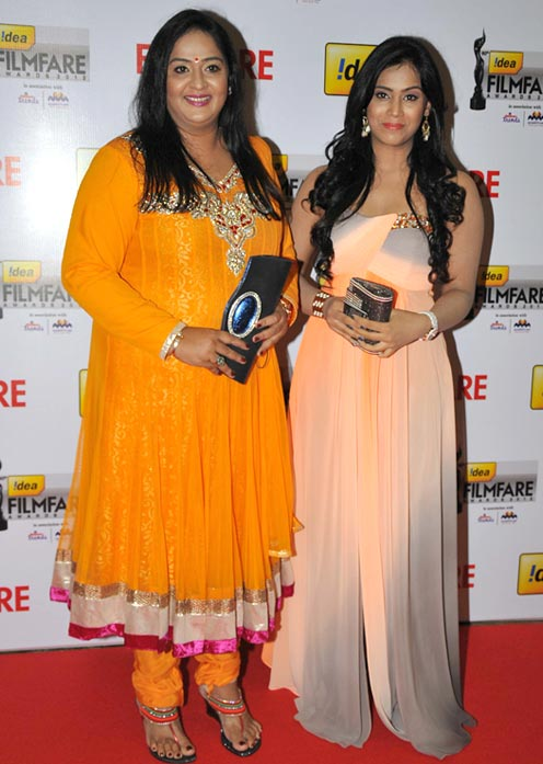 Radhika and Tulasi Nair