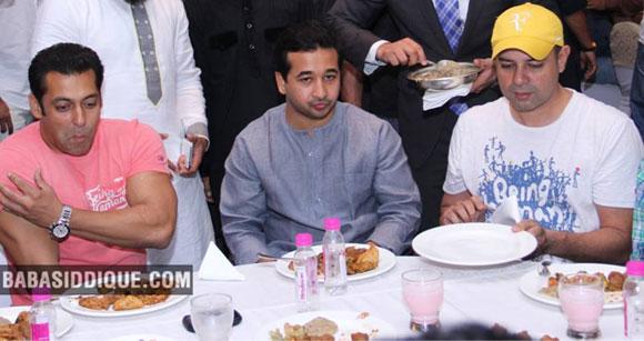Salman Khan, Nitesh Rane and Atul Agnihotri