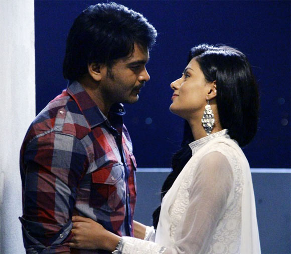 Rahul Venkat and Anisha Ambrose in Alias Janaki