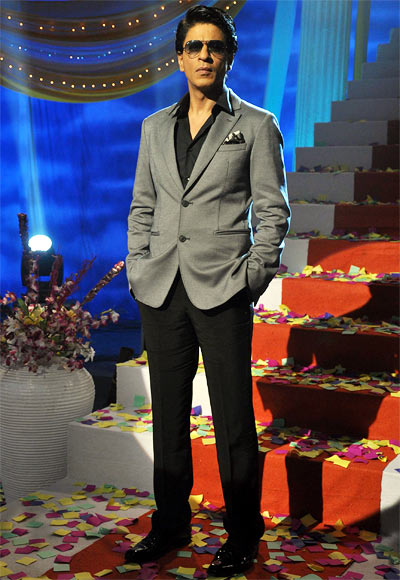 Shah Rukh Khan on the sets of Tarak Mehta Ka Oolta Chashma