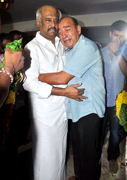 Rajinikanth and Vijayakumar