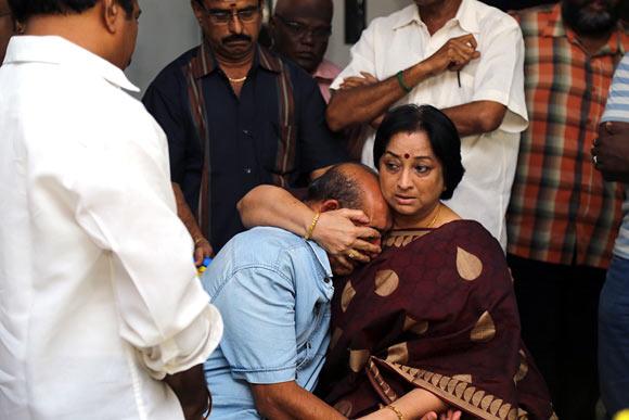 Lakshmi and Vijayakumar