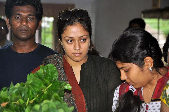 Jyotika and Preetha