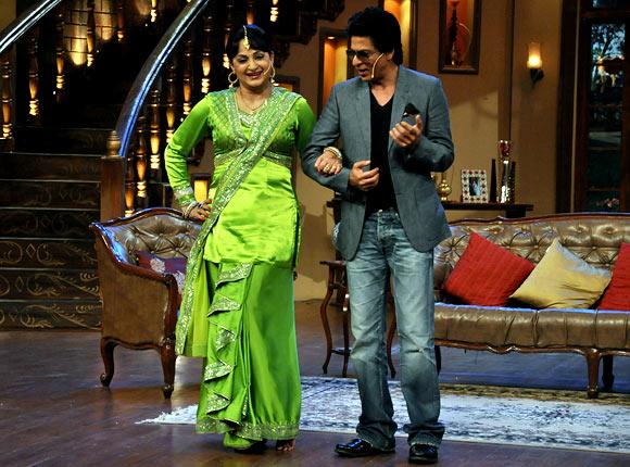 Shah Rukh Khan, Upsana Singh