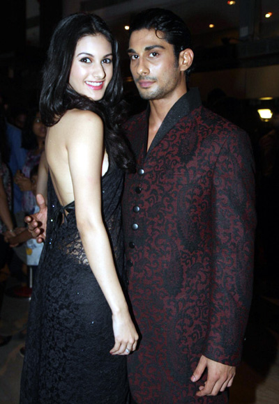 Amyra Dastur and Prateik Babbar