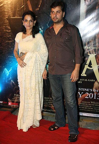 Rajeshwari Schdev and Varun Badola