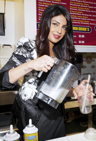 Priyanka Chopra at Millions of Milkshakes, Hollywood