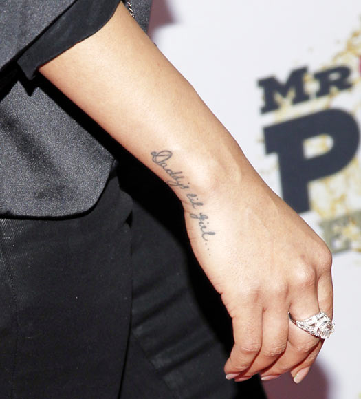 Priyanka Chopra's tattoo