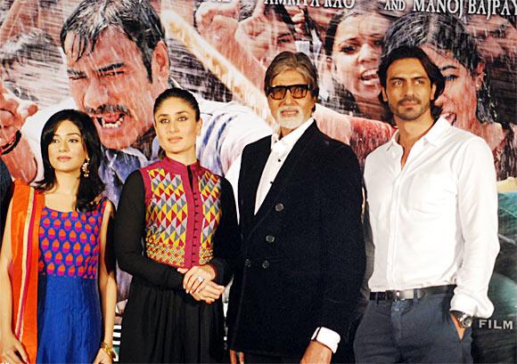 Amrita Rao, Kareena Kapoor, Amitabh Bachchan and Arjun Rampal
