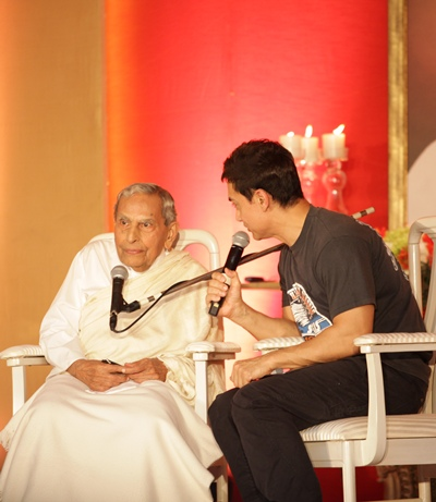J P Vaswani and Aamir Khan