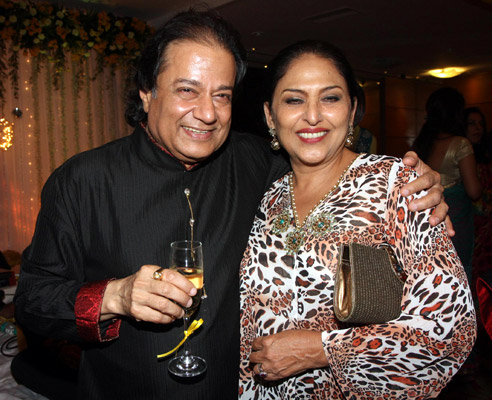 Anup Jalota and Anju Mahendru