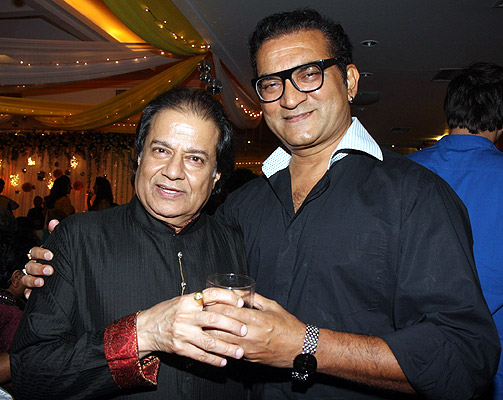 Anup Jalota and Abhijeet