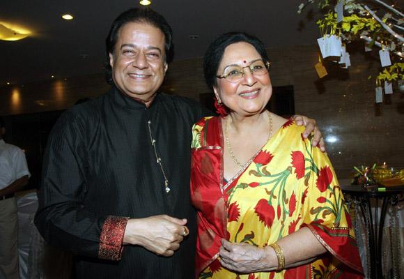 Anup Jalota with Tabassum