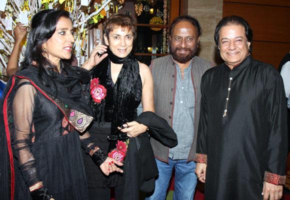 Medha Jalota, Deepa Sahi, Ketan Mehta and Anup Jalota