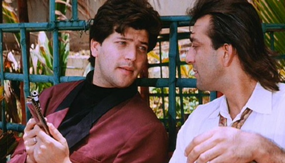 Sanjay Dutt with Aditya Panscholi in Aatish