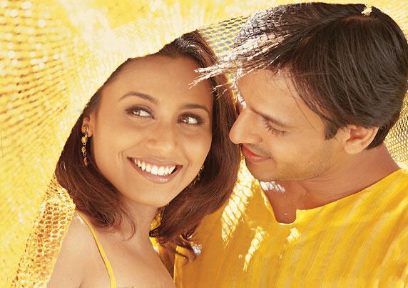 Rani Mukerji and Vivek Oberoi in Saathiya