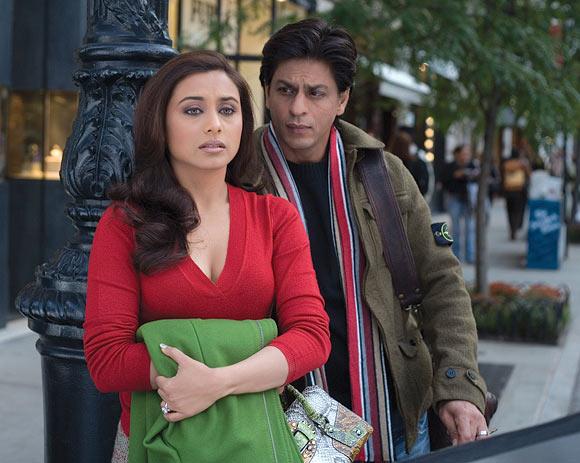 Rani Mukerji and Shah Rukh Khan in Kabhi Alvida Na Kehna