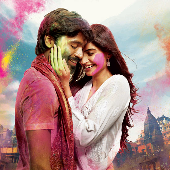 Dhanush and Sonam Kapoor in Raanjhanaa