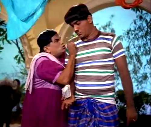 Dhumal and Mehmood in Gumnaam