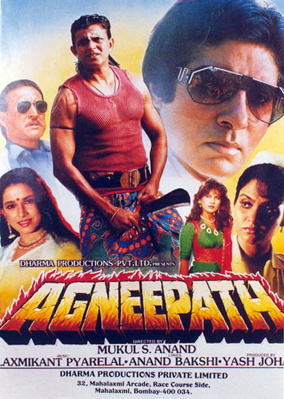 The Agneepath poster