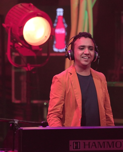 Ram Sampath at the Coke Studio @MTV recording