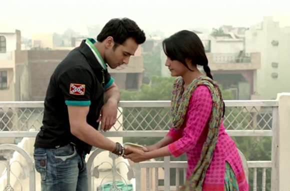 Pulkit Samrat and Priya Anand in Ambarsariya, Fukrey