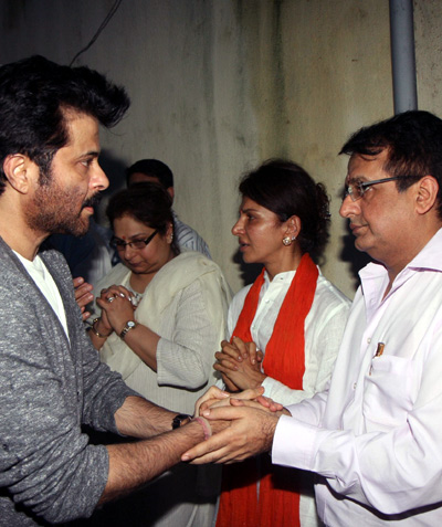 Anil Kapoor, Anita Raj and Sunil Hingirani