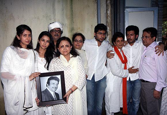 Anita Raj and her family