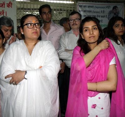 Sunita and Narmada Ahuja