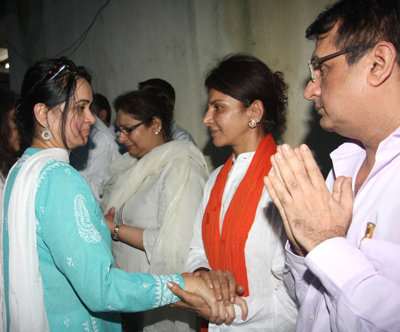 Padmini Kolhapure and Anita Raj