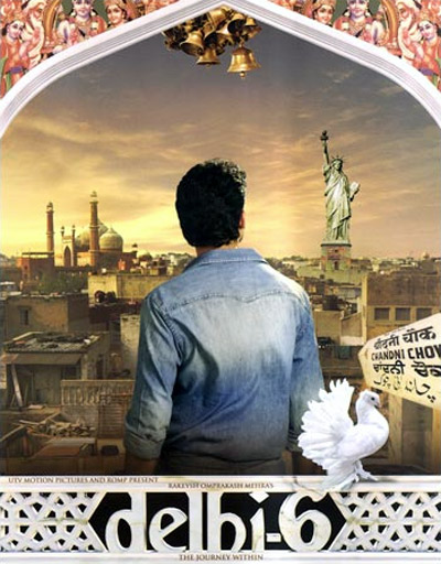 Movie poster of Delhi 6