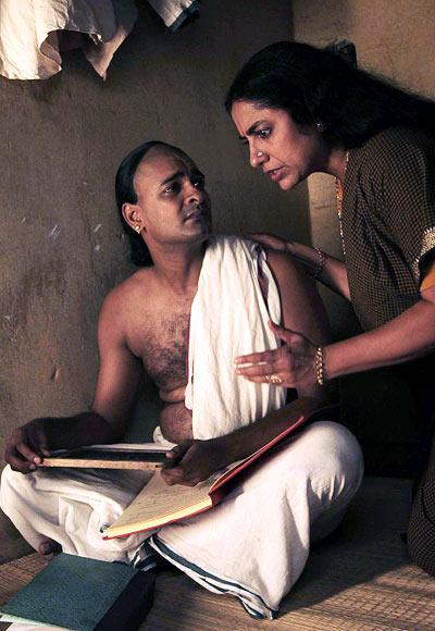 Abhinay Vaddi and Suhasini Mani Ratnam in Ramanujan