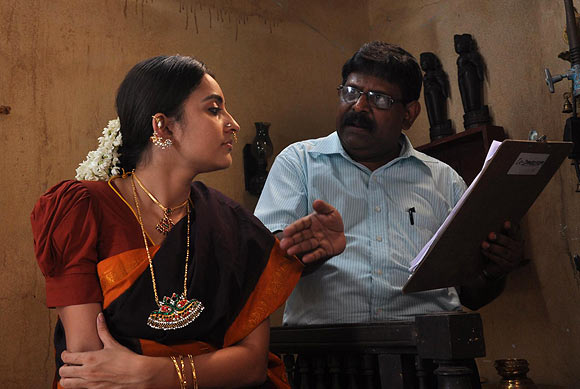 Bhama with director Gnana Rajasekharan