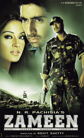 Movie poster of Zameen